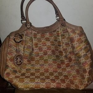 Gucci large Suki handbag